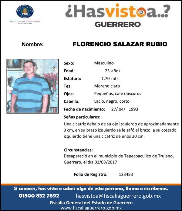 FLORENCIO SALAZAR RUBIO