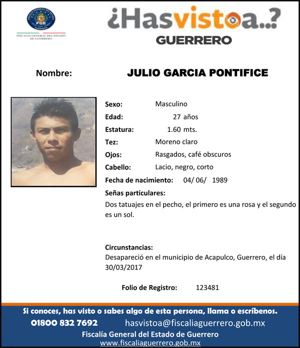 JULIO GARCIA PONTIFICE