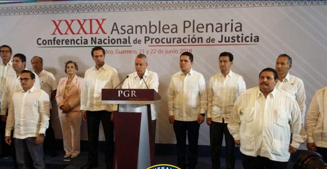 Concluyen los trabajos de la CNPJ 2018 en Acapulco, Guerrero