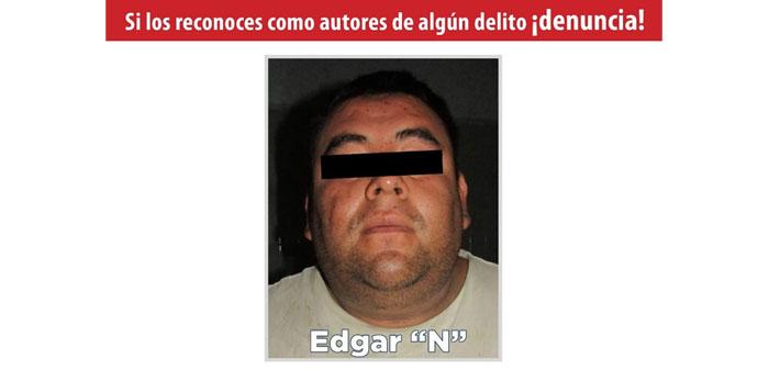 #TuFiscalía informa que fue capturado en Chilapa líder de grupo delincuencial.