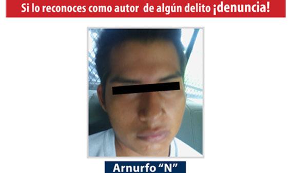 Agentes Ministeriales de FGE detienen a homicida de mujer en Igualapa, región Costa Chica.